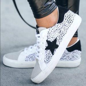 Faux Cheetah Sneakers
